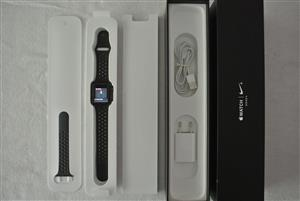 Apple iWatch 3 Nike+ 42mm GPS Space Grey Aluminium Case with Anthracite / Black Nike Sport Band - Series 3