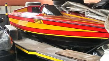 speeedboat project for sale
