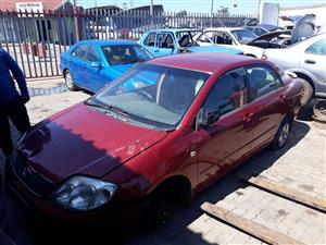 Toyota Corolla 1.6 VVTI - Stripping for Spares