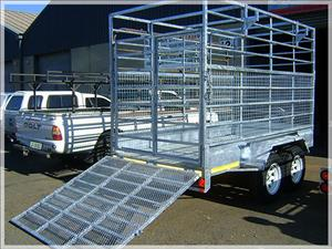 AGRICULTURAL AND CATTLE LIVE STOCK TRAILERS