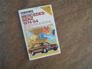Mercedes-Benz workshop manual all models 1974 to 1984
