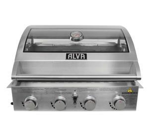 Alva table top gas braai - R5349-00 + FREE DELIVERY NATIONWIDE