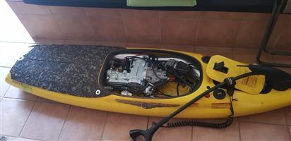 Motorised surf board 440cc