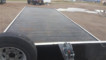 6m Double axle trailer nearly brand new