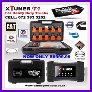 TRUCK DIAGNOSTIC MACHINE BLACK FRIDAY SPECIAL: XTUNER T1 HD V13.1 Heavy Duty Trucks Auto Intelligent Diagnostic Tool