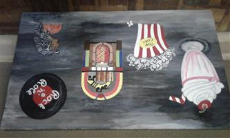 Hand painted wall board(west rand jhb)
