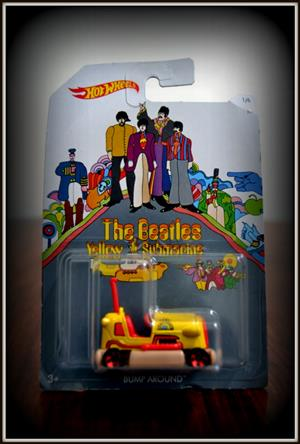 Hot wheels the beatles band yellow submarine toy