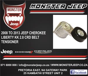 Jeep Cherokee Liberty KK 2.8 CRD Belt Tensioner