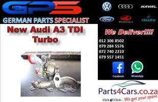 New Audi A3 TDI Turbo for Sale