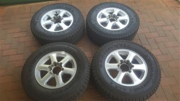 Isuzu 05-12 Mags with Tyres