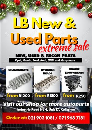 Engine Parts for sale.