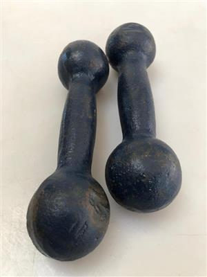 Pair Old-school design 1.5kg Dumbbell weights