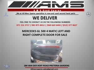 MERCEDES GL500 4MATIC COMPLETE DOORS