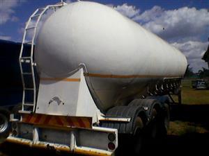 Dri bulk tanker 50000 cube