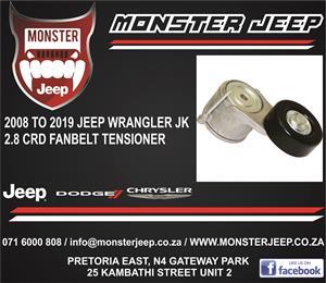 Jeep Wrangler JK 2.8 CRD Fan Belt Tensioners