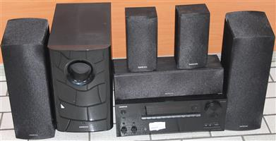 Onkyo 5.1 surround sound no remote S036067A