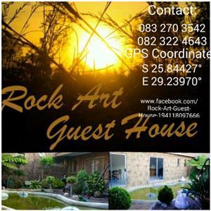 Rock art guest house