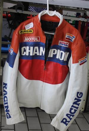 Repsol leather motorbike jacket S031789A #Rosettenvillepawnshop