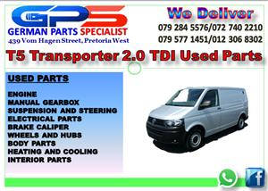 VW TRANSPORTER T5 2.0 TDI USED PARTS FOR SALE