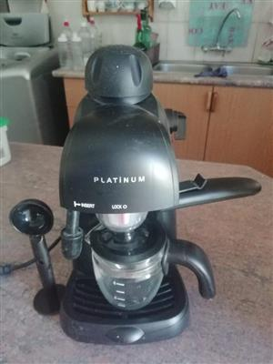 Platinum koffiemasjien