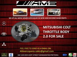 MITSUBISHI COLT THROTTLE BODY 2.0