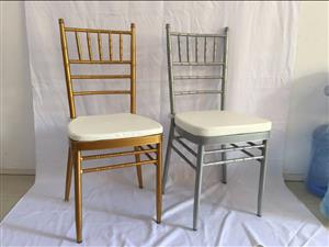 Smart & solid steel Tiffany Chairs with cushions