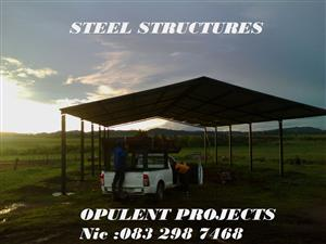 Steel structures /best prices and best service in SA