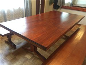 Large dinning room table for sale