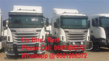 SIDE TIPPER TRUCKS AND TRAILERS FOR RENT / HIRE 0681906572