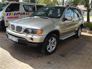 2002 BMW X5 M