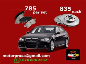 BMW E90 Brake Pads and Disc