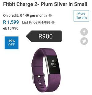 Fitbit plum color for sale