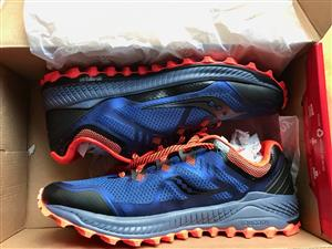 Brand new Saucony Peregrine 8 trail shoes for sale