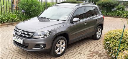 2012 VW Tiguan 1.4TSI 118kW Trend&Fun