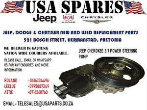 JEEP CHEROKEE 3.7 POWER STEERING PUMP FOR SALE