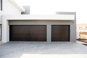 Insulated steel garage doors in Pretoria City