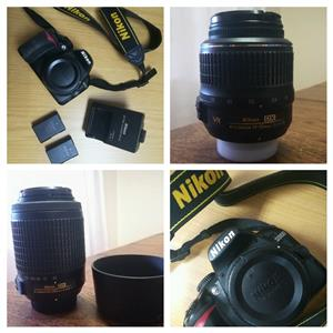 Nikon D3100 digital camera and Accessories for sale