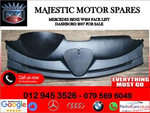 Mercedes benz W203 face lift dashboard for sale