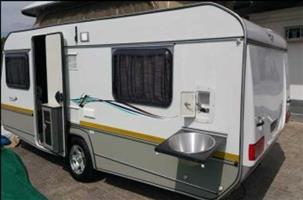 JURGENS PENTA 2015 AS NEW WITH ROLLER MOVERS, EXTRA NEW AWNING, POPULAR GREY TENT AND INTERIOR,TRAVEL BLANKET