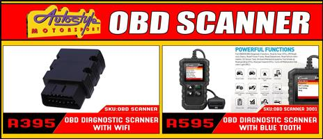 OBD Scanners with wifi and bluetooth.