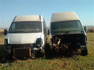 2 Interstar busses to sell for spares