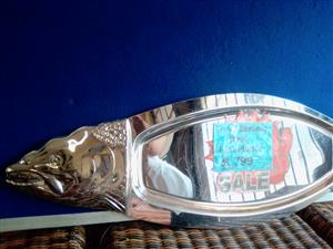 Stainless Steel Fish-Thai Platter-Secondhand