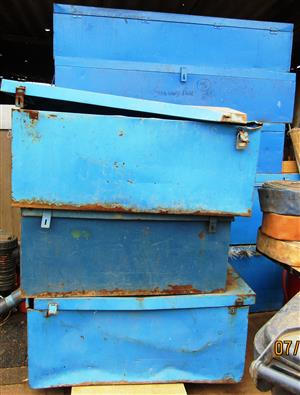 Metal Boxes - assorted sizes and conditions