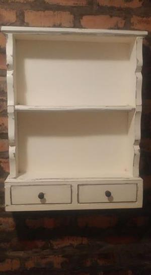 Shelf with 2 drawers