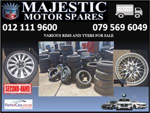 Mercedes benz used rims and tyres for sale