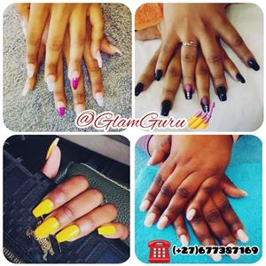 20% discount on all hair and nails