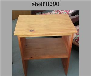 Mini wooden shelf