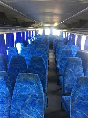 60 seater volvo bus