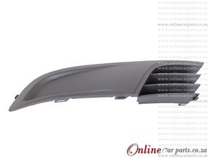 VW Polo Vivo Left Hand Side Front Bumper Grille Without Fog Light Fog Lamp Holes P1 2010-2014