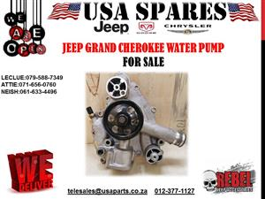 JEEP GRAND CHEROKEE 5.7 NEW WATER PUMP FOR SALE